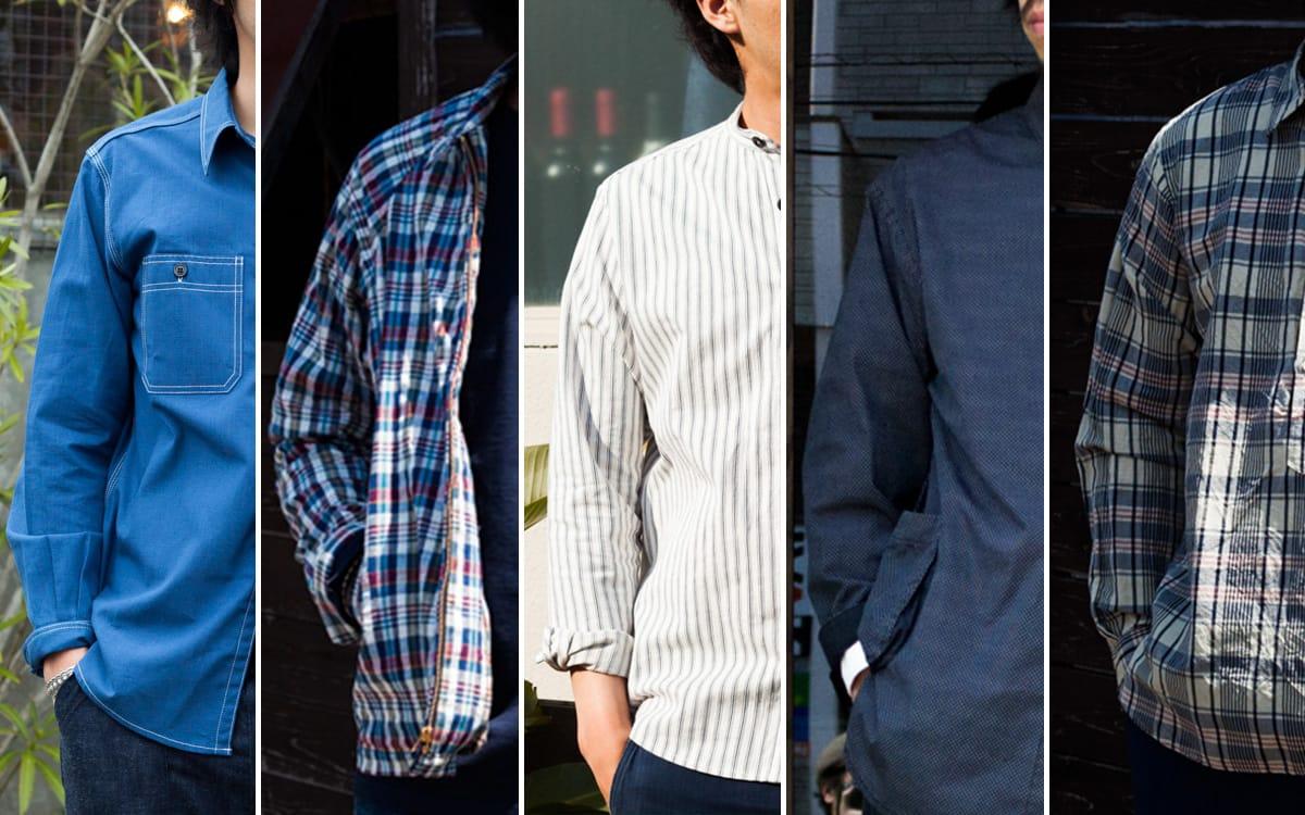 これからの季節に持っておきたい春夏、長袖シャツ5選。