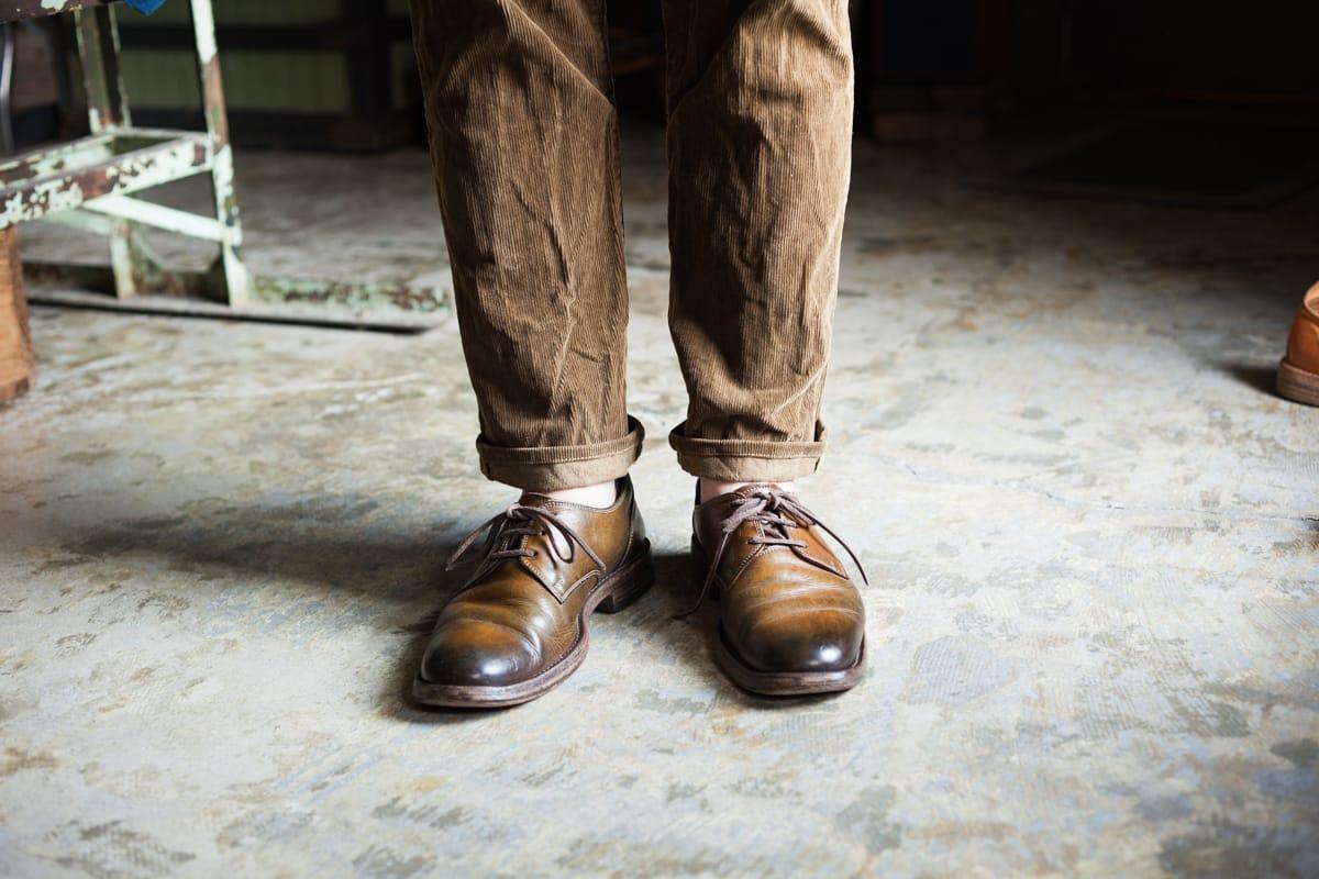 意外と難しい、パンツの長さと裾上げのコツ・ロールアップの位置。