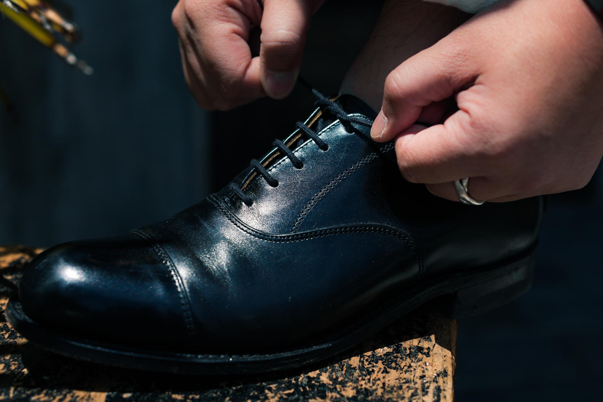 上品な佇まいが男心をくすぐるCanadian oxford shoesのご紹介。