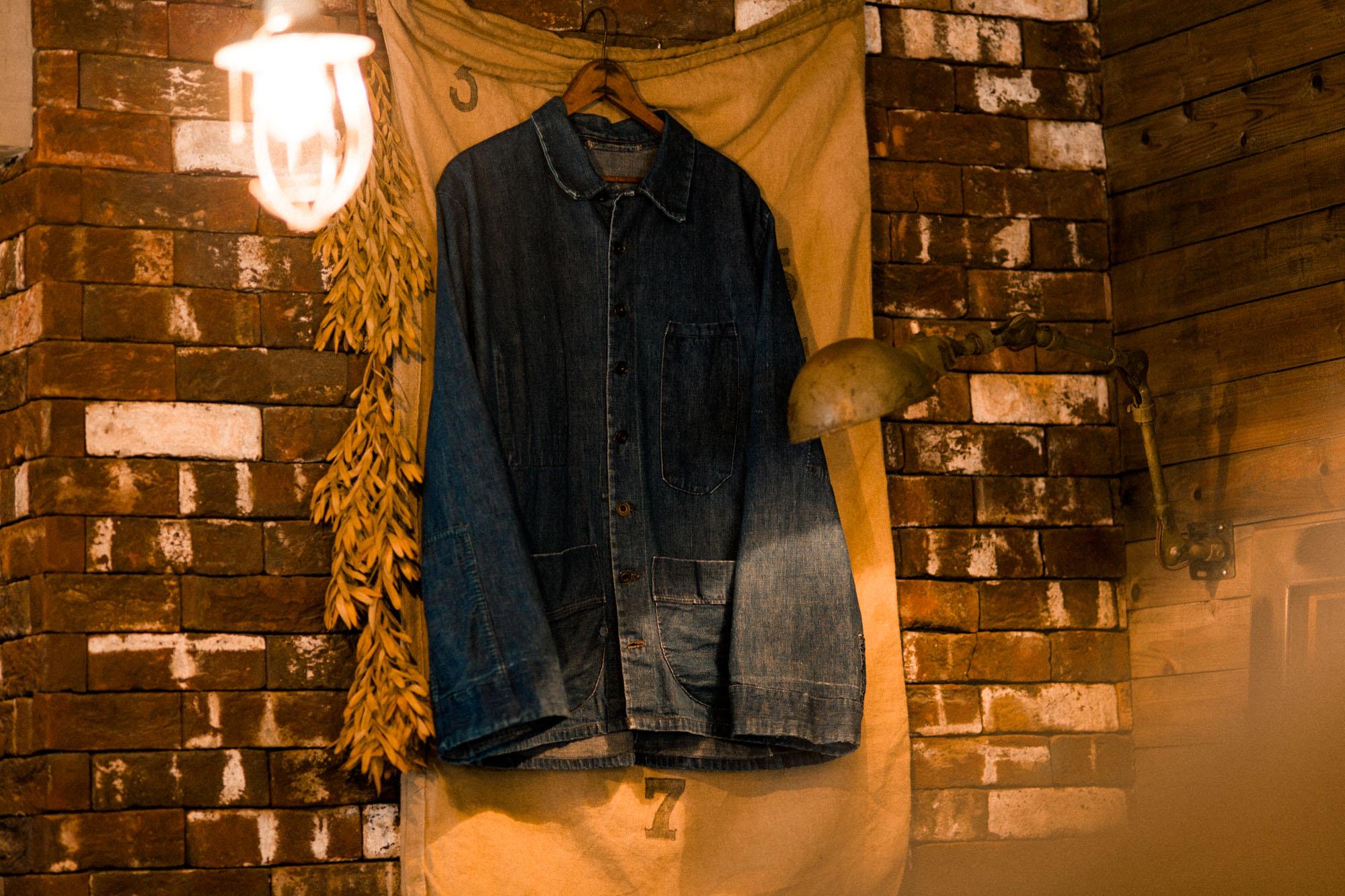 洋服の魅力がグッと詰まった『1920's US PRISONER DENIM JACKET』のご紹介。